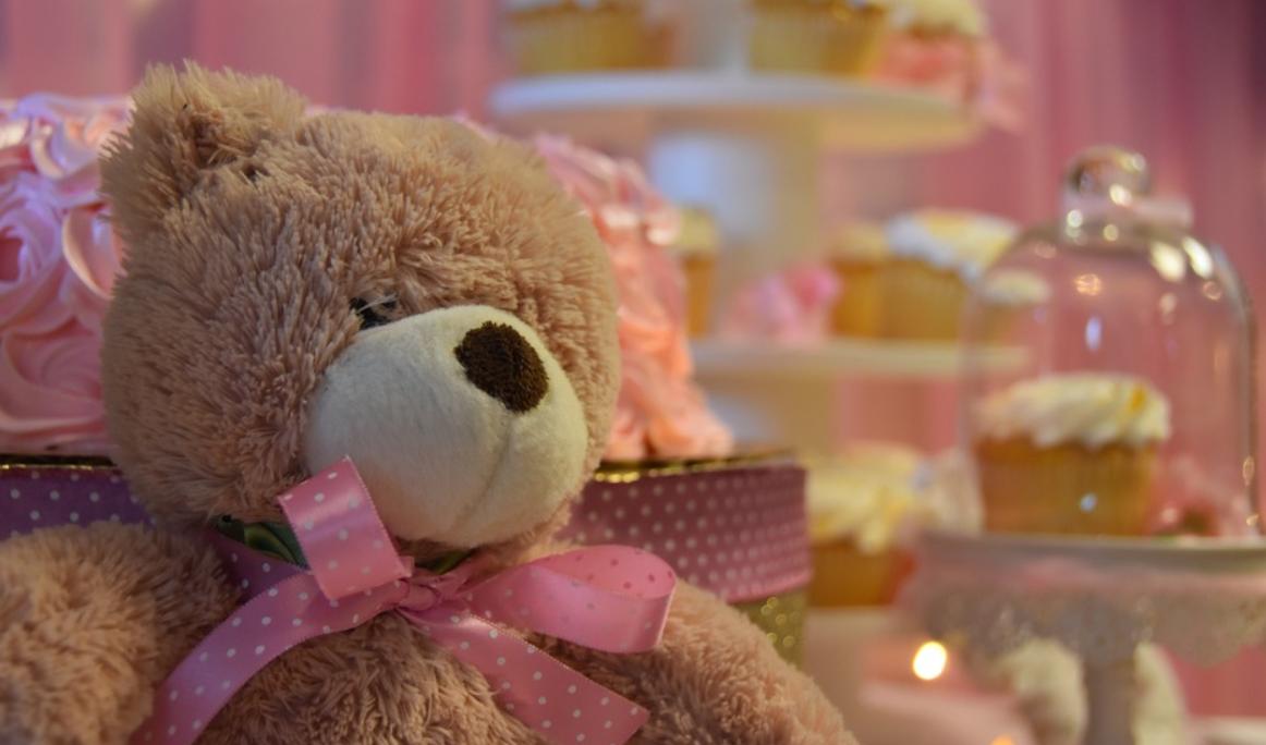 dětský medvídek