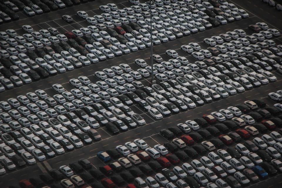 parkoviště vozů